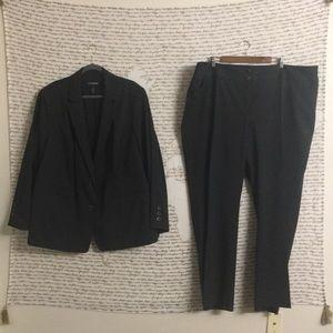 Lane Bryant Thin Pinstripe Suit